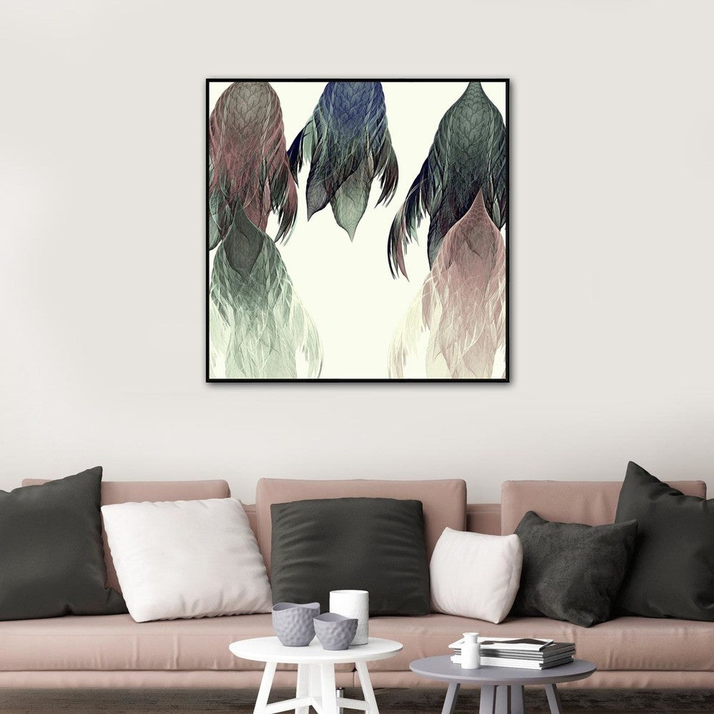Bound By Canvas Print with Floating Frame