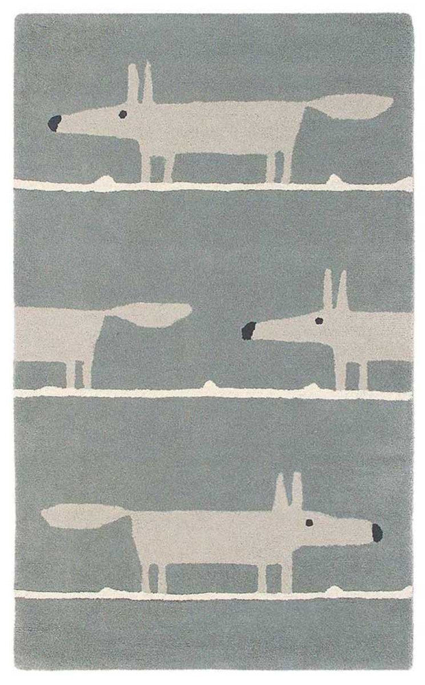 Scion Mr Fox Silver 25304 Rug