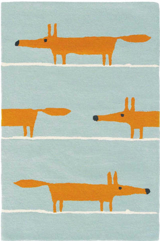 Scion Mr Fox Rug Denim