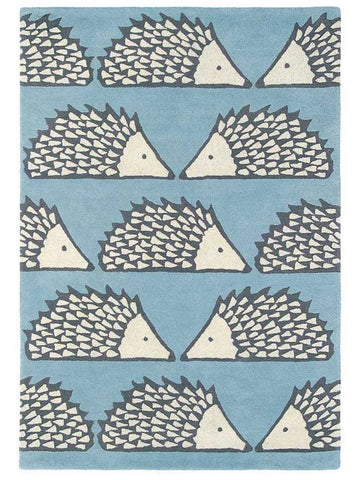 Scion Mr Fox Rug Aqua 25308 Rug