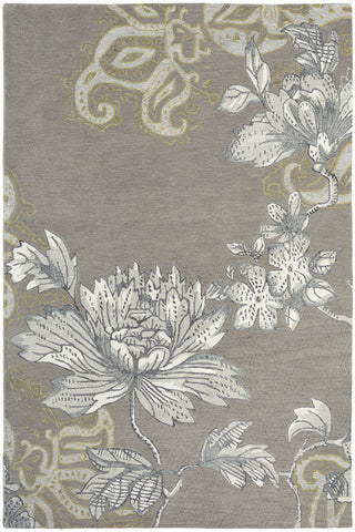 Wedgwood Fabled Floral Rug Grey