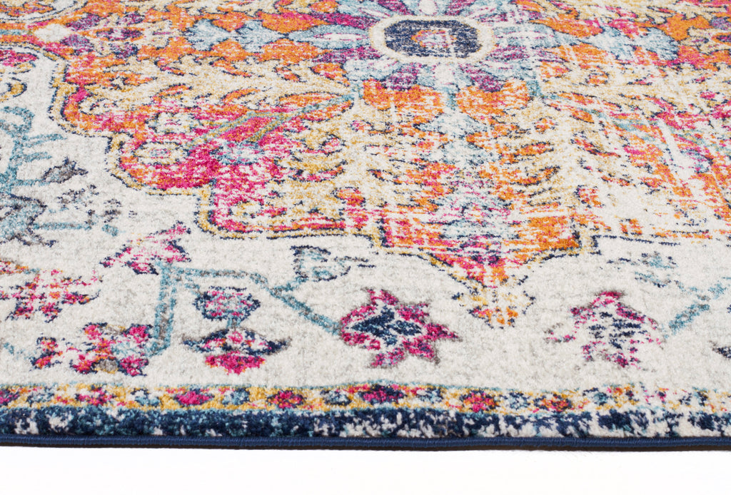Carnival White Transitional Rug