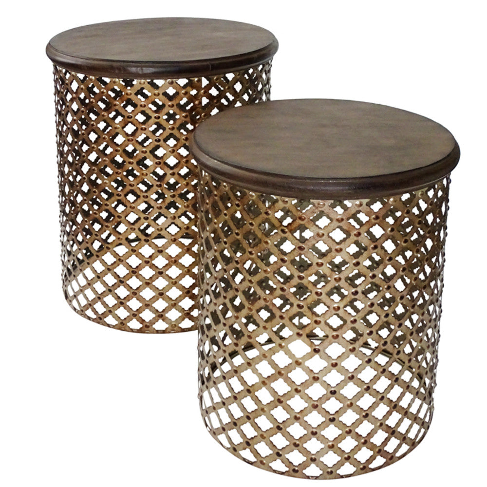 Cosala Side Tables Set/2