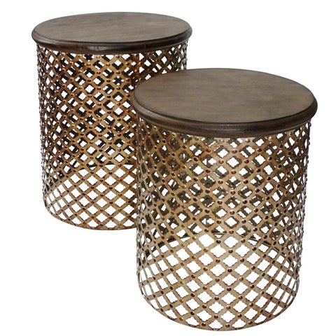 Banton Side Table Toffee
