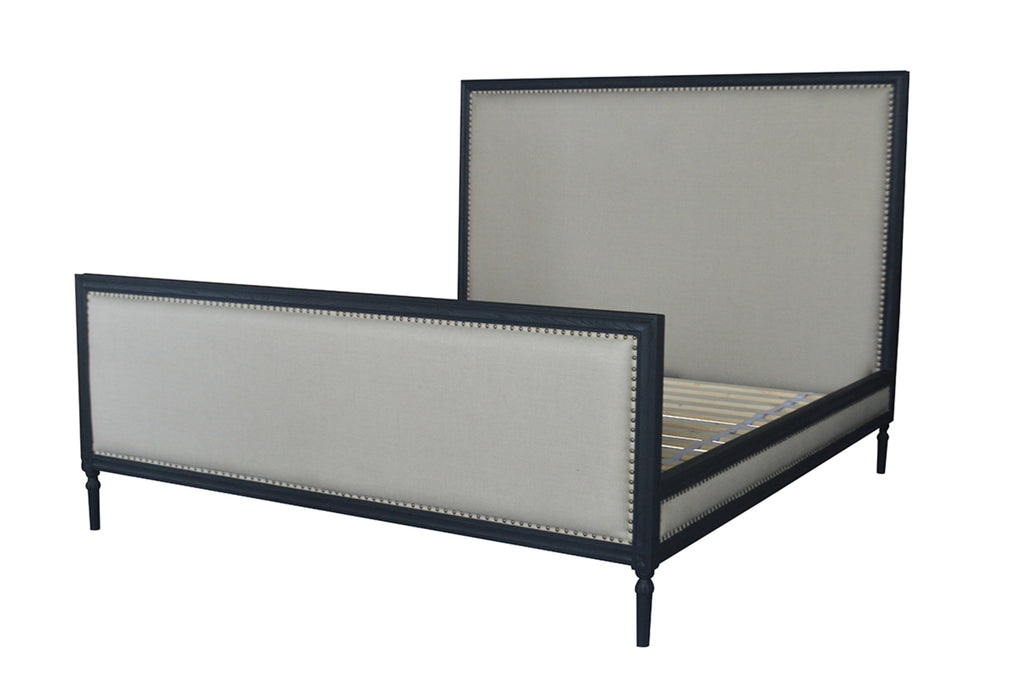 Elise King Bed Black