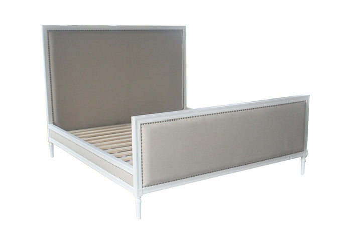 Elise King Bed White