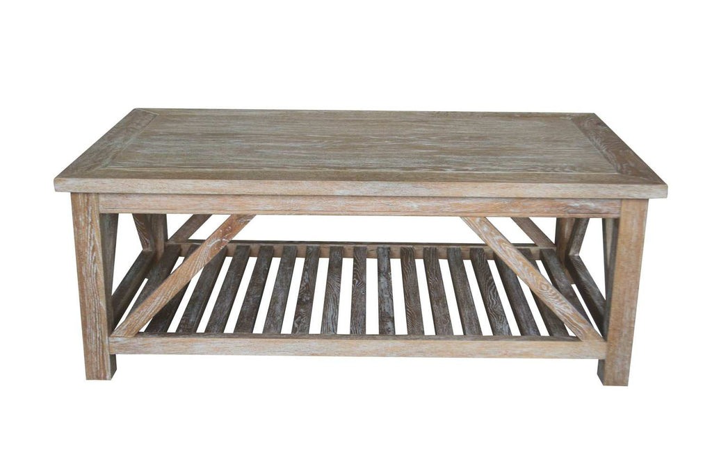 Kennett Coffee Table White Washed Oak