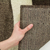 Subtle Waves Rug Brown Beige