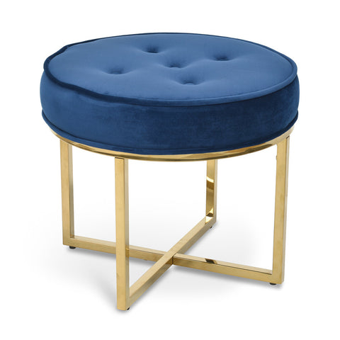 London Stool Blue