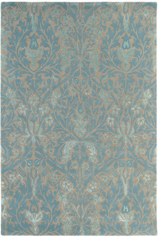 Morris & Co Autumn Flowers Eggshell 27508 Rug