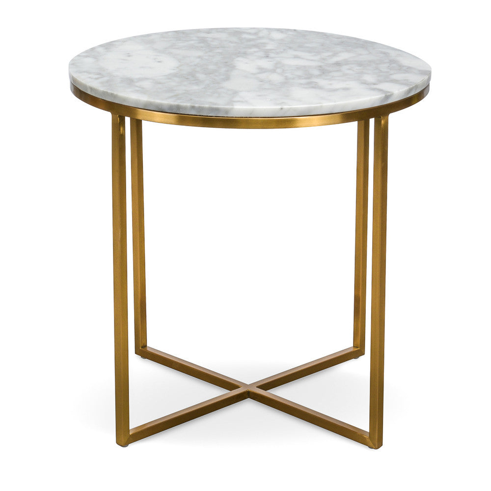 Marble Coffee Table Online: Primo Side Table Round