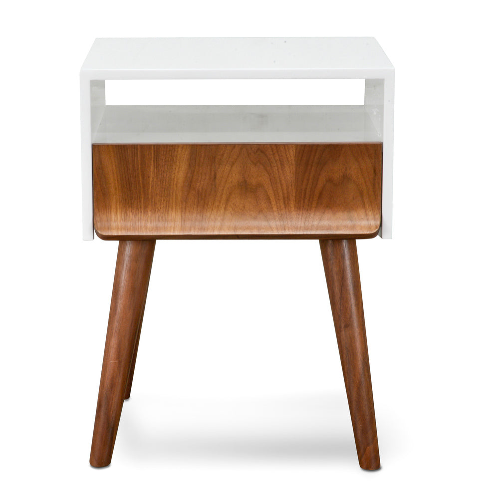 Bing Side Table Walnut