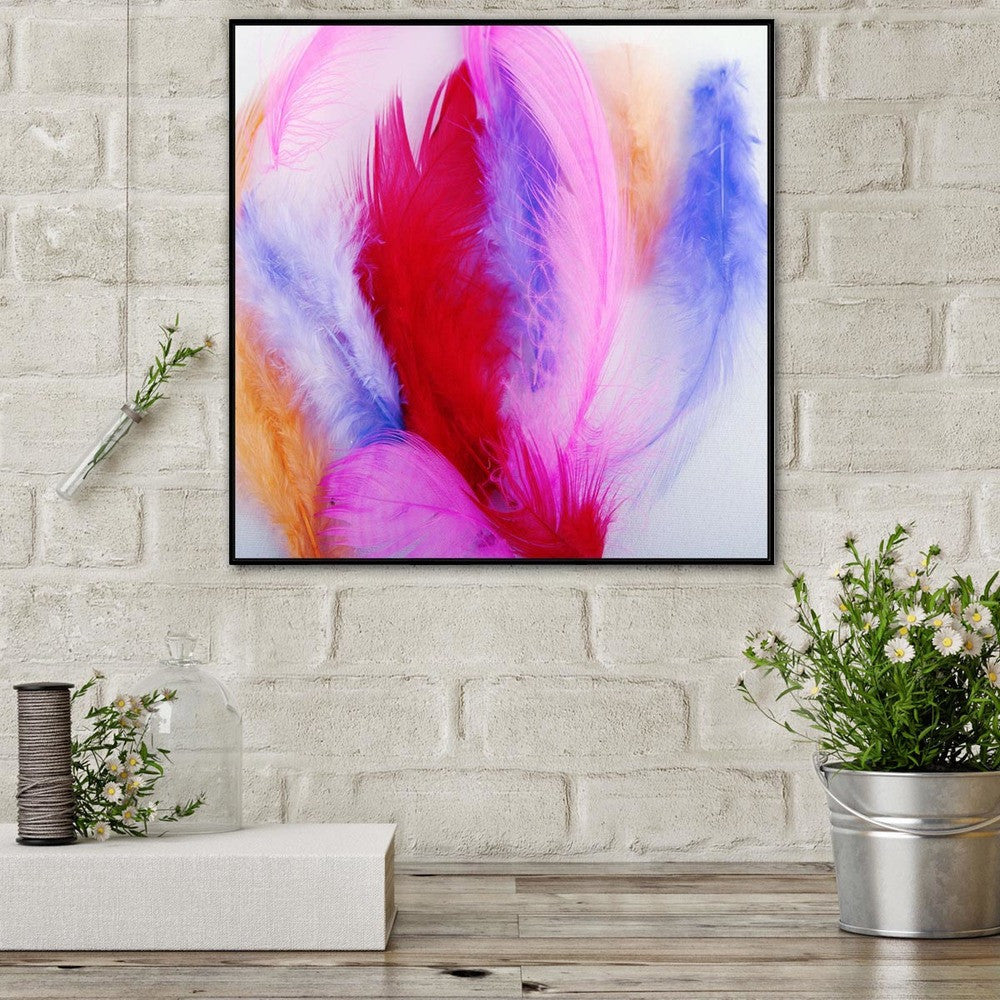 Catch Me 2 Photographic Canvas Print with Floating Frame