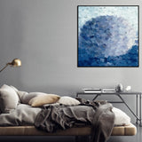 Atmospheric Digital Canvas Print with Floating Frame