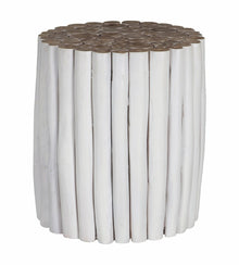 Takke Side Table White
