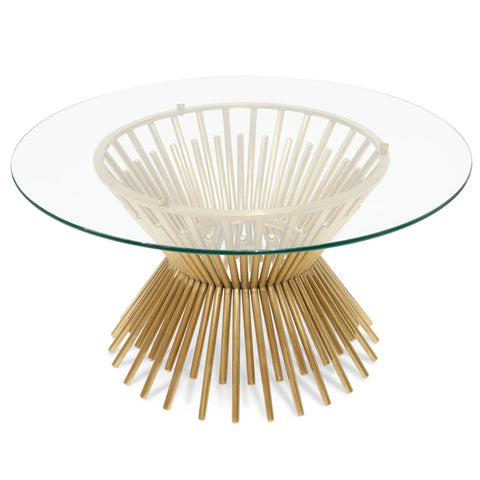 Dale Brass Coffee Table