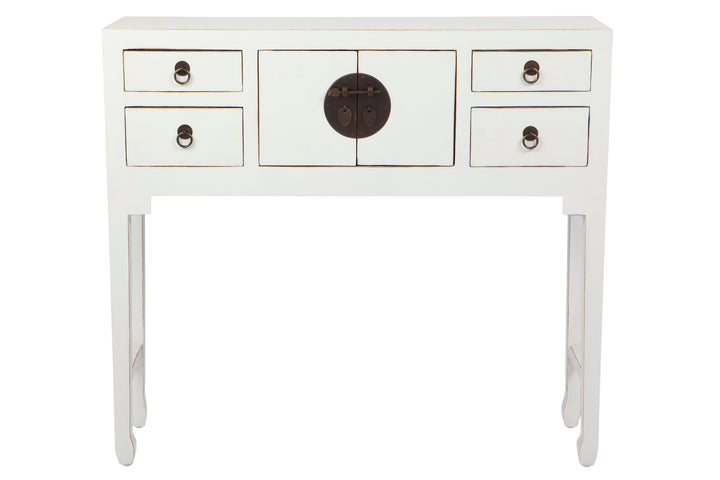 Kwan Console Table/Cabinet White