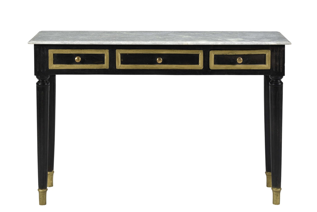 Nyree Console Table with Marble Top Limited Edition