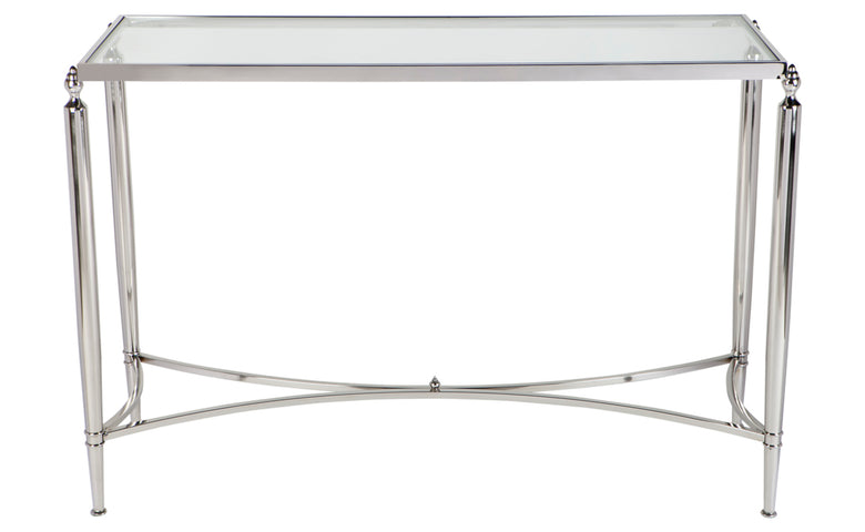 Jacques Console Table Nickel