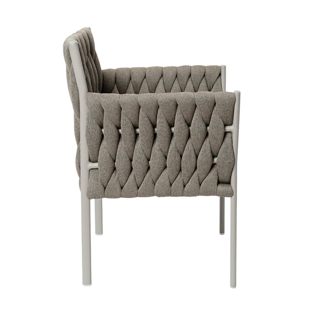 Leonard Outdoor Dining Chair Taupe