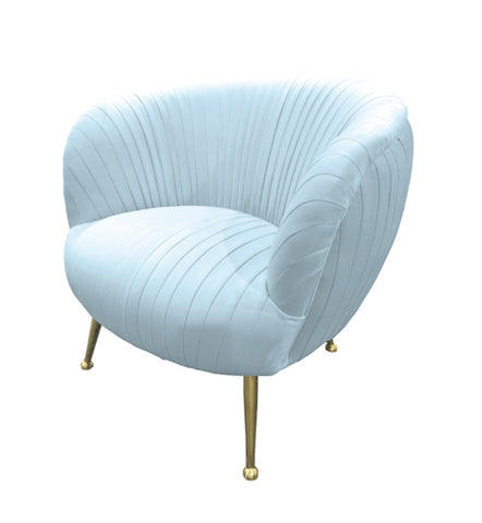 Perugia Arm Chair Ice Blue