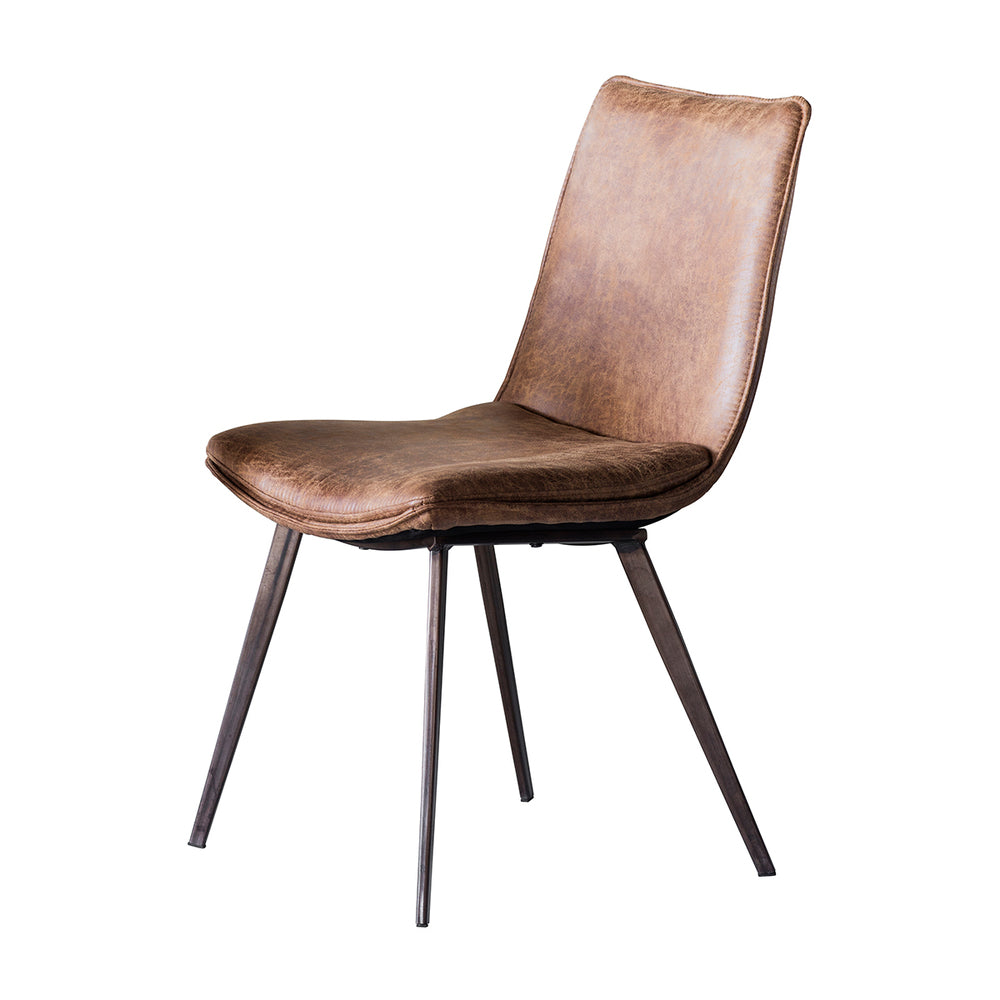 Cassie Dining Chair Tan Pack/2
