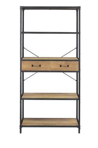 Atelier Shelving Unit 4 Drawers Tall Orange