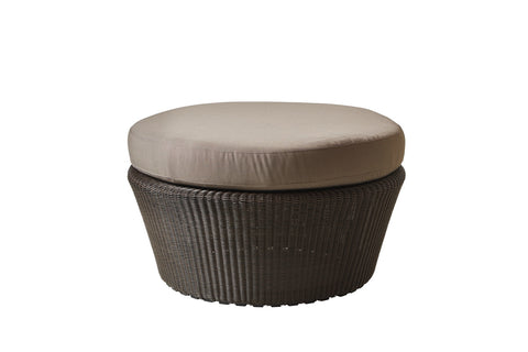 Divine Indoor/Outdoor Ottoman Brown