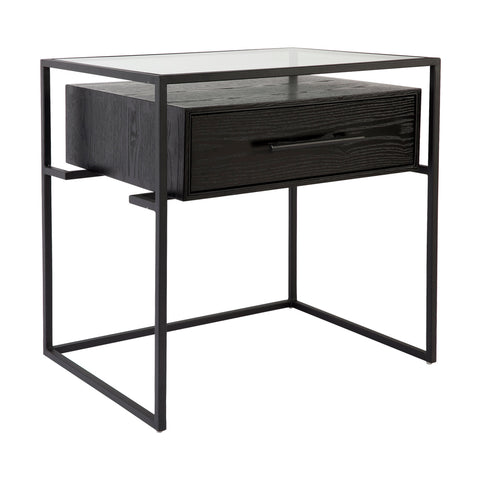 Vogue Bedside Small Black