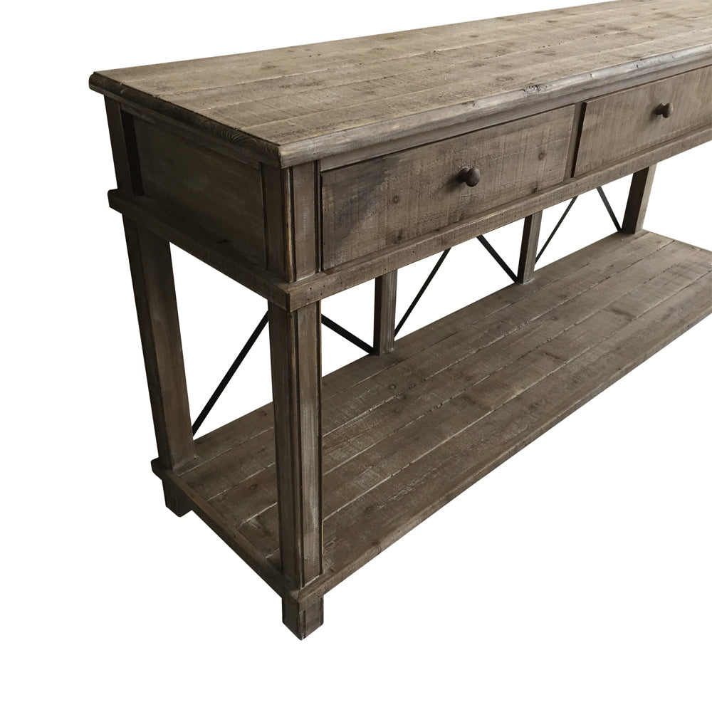Harvest 3 Drawer Console