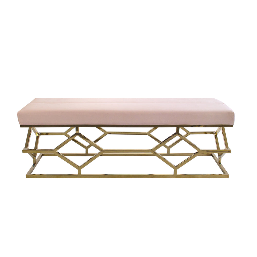 Digby Ottoman/Bench Rose Water