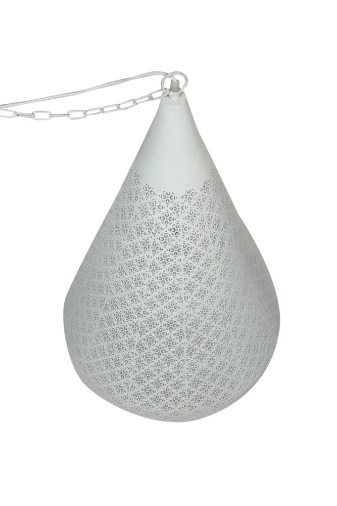 Aziza Pendant White Large