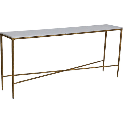 Preston Console Brass