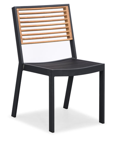 St Lucia Dining Chair Charcoal