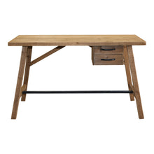 Timber 2 Drawer Desk