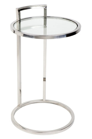 Max Side Table Chrome