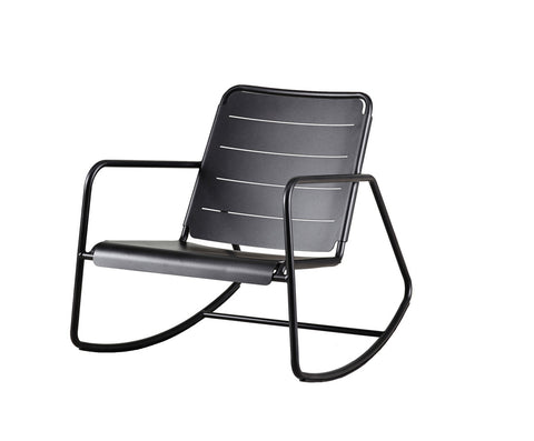 Copenhagen Rocking Chair Lava Grey