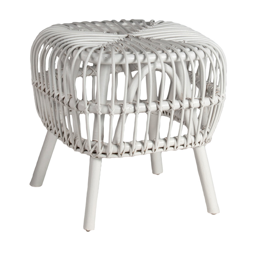 Hayman Side Table/Stool White