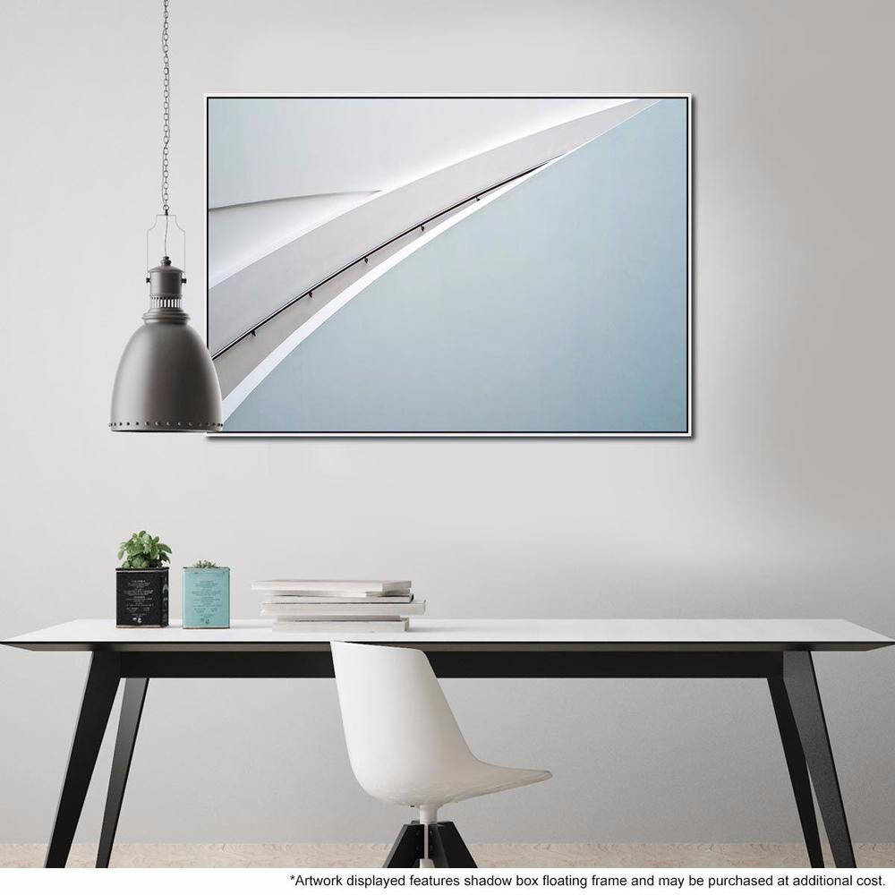 Steel Lie Canvas Print with Floating Frame