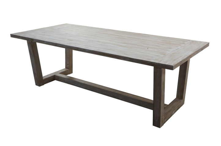 St Martin Grey Wash Dining Table