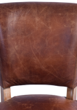 Harris Leather Dining Chair Pair