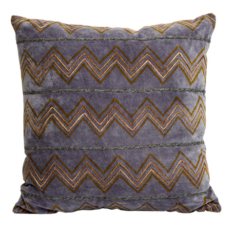 Jamila Velvet Cushion Mauve