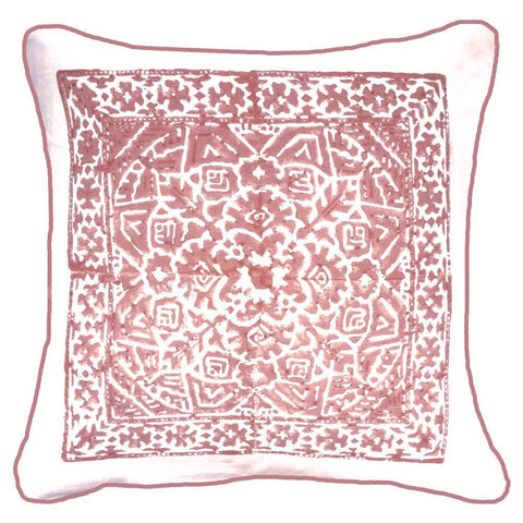 Kilim Print Blush Lounge Cushion