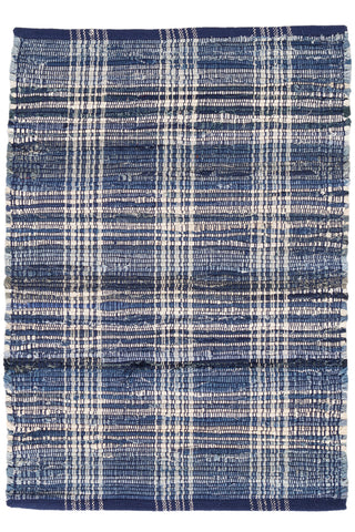 Newberry Plaid Cotton Rug