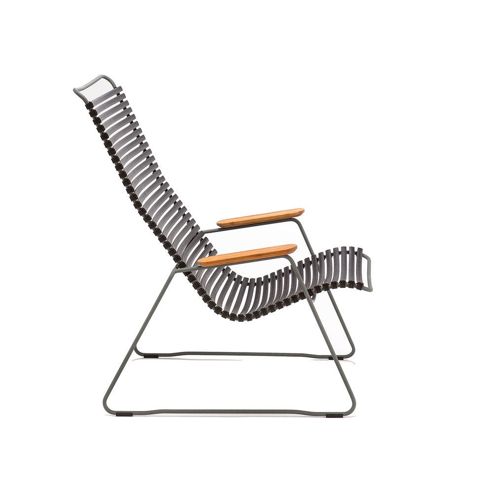 Click Outdoor Lounge Chair Pigeon Blue