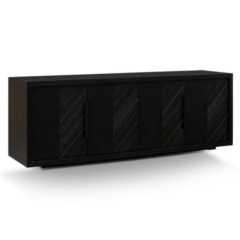 Ainsley Buffet Textured Ebony Black