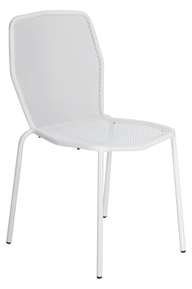 Visby Outdoor Chair White