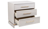 Capize Bedside Chest Grey