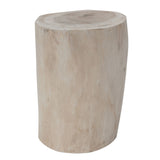 Log Stool Natural