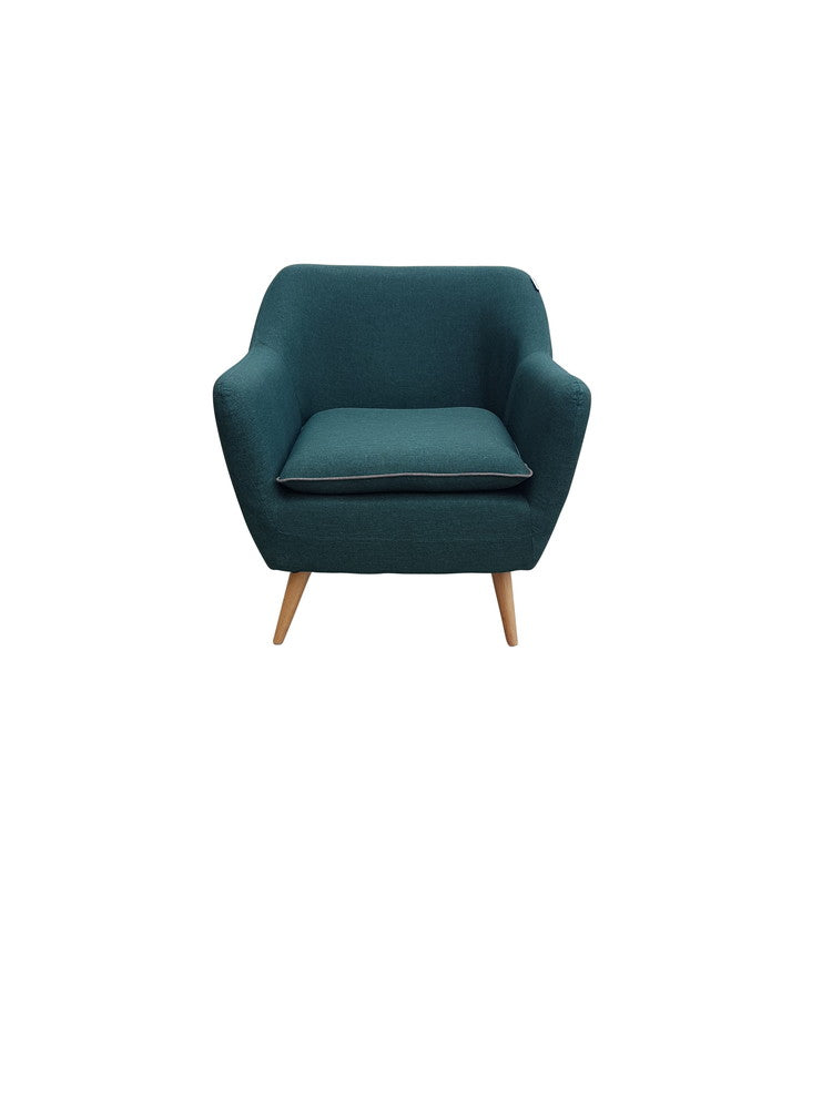 Sixty Luxe Armchair Sea Green